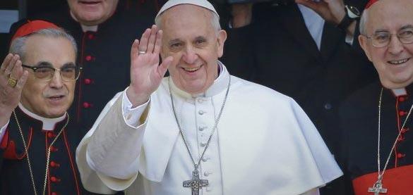 Benvenuto Papa Francesco!