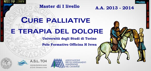 "Master in «Cure palliative e terapia del dolore» Polo Formativo ""Officina H"", Ivrea"