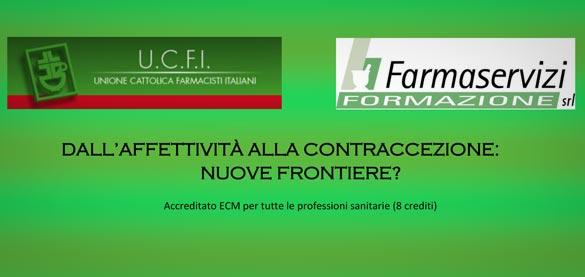 UFCI: «Dall'affettività alla contraccezione: nuove frontiere?», 21 e 26 novembre a Torino