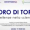 """""""L'oro di Torino"""": Ciclo di conferenze scientifiche, Villa Amoretti 15 febbraio-29 marzo"""