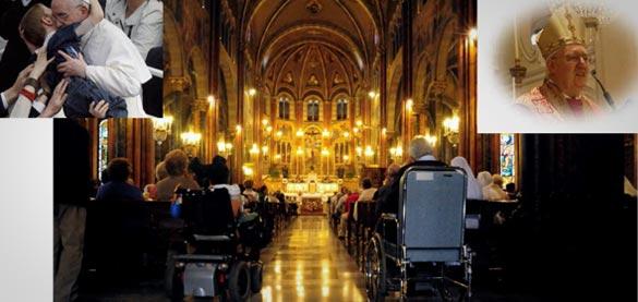 """""""Il mondo delle disabilità e l'Arcivescovo di Torino si incontrano"""", 14 maggio, Cottolengo"""