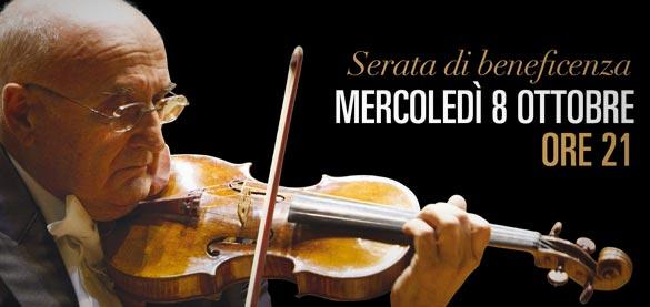 Serata di beneficenza con Accardo in Concerto