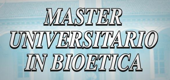 Al via le iscrizioni al Master universitario in Bioetica – Facoltà Teologica