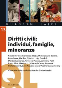 CONSULTA TORINESE - diritti civili individui famiglie minoranze - copertina
