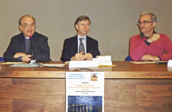 Convegno - Brunetti, Larghero, Tegani