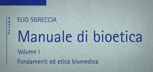 """Esce in giapponese il primo volume """"Manuale di Bioetica"""" di mons. Sgreccia"""