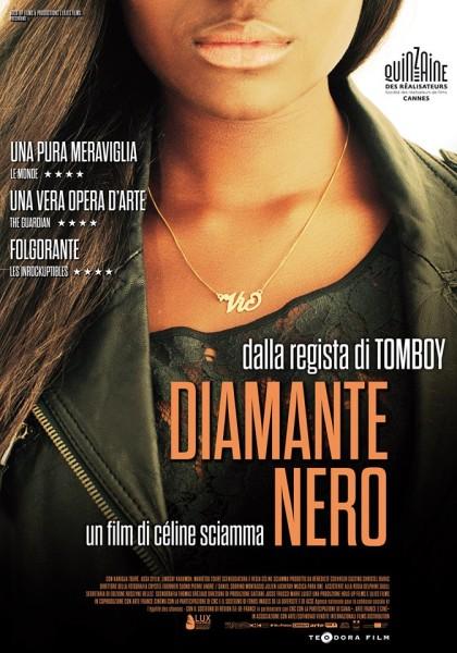 Diamante nero di C. Sciamma _locandina film