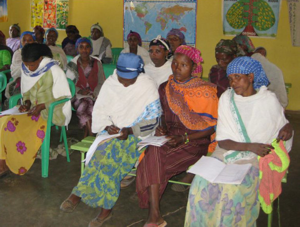Gli impegni missionari della Consolata in Etiopia