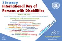 Giornata internazionale Disabilità