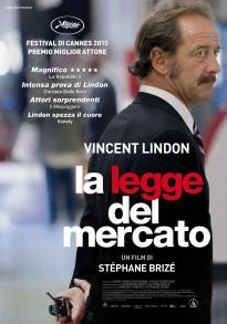 La legge del mercato, film di S. Brizé, poster