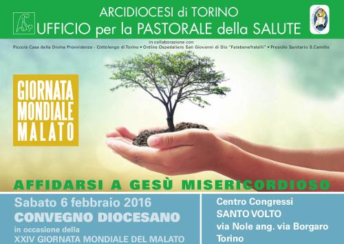 Per la XXIV GMM un convegno diocesano al Santo Volto di Torino