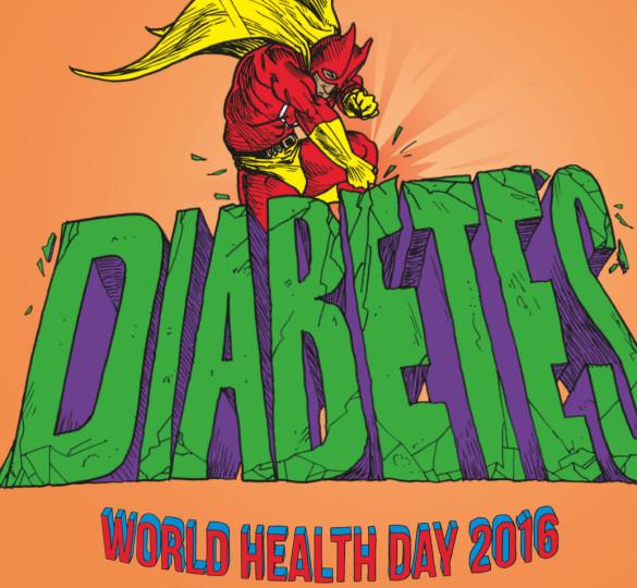 Sconfiggere il diabete. Giornata mondiale della salute 2016