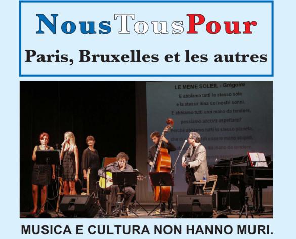 Nous tous pour Paris, Bruxelles et les autres: concerto all'Auditorium Santo Volto di Torino