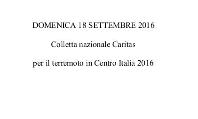 Solidarietà  della Chiesa di Torino con le persone colpite dal terremoto in Centro Italia