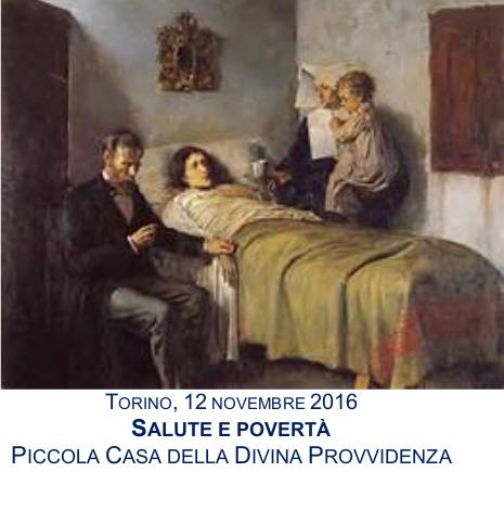 """""""Salute e povertà""""  presso la Piccola Casa della Divina Provvidenza"""