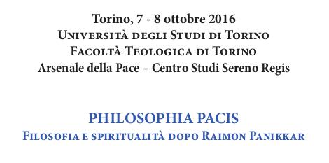 Philosophia Pacis. Filosofia e spiritualità dopo Raimon Panikkar