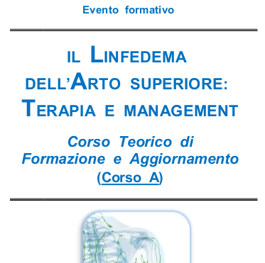 Il linfedema dell'arto superiore: terapia e management