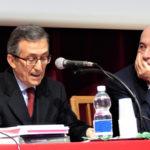 Da sinistra: Giorgio Palestro, presidente Centro Cattolico di Bioetica ,  Fabrizio Fracchia, presidente regionale Amci Piemonte