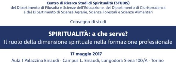 Spiritualità: a che serve? Il ruolo della dimensione spirituale nella formazione professionale