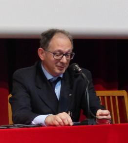 Dr. Franco Balzaretti, vice presidente Amci Italia del Nord, membro Consulta Nazionale Cei, al convegno 20 maggio 2017, presso la Casa della Divina Provvidenza Cottolengo Torino
