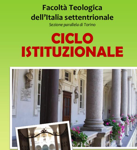 Ciclo istituzionale Facoltà Teologica dell'Italia Settentrionale – Torino