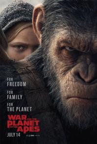 The War - Il pianeta delle scimmie di M. Reeves (poster)