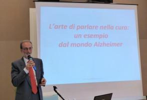 """Pietro Vigorelli, Presidente Gruppo Anchise di Milano, al convegno """"Le lingue della malattia"""", 4 maggio 2017, Richelmy, Torino"""