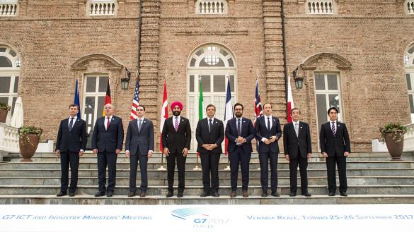 Scienza G7 alla Reggia di Venaria