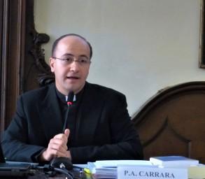 Professor P. Alberto Carrara L.C., Coordinatore del Gruppo di Neurobioetica (GdN) Ateneo Pontificio «Regina Apostolorum» - Roma, Convegno «Neuroscienze», Torino, 17 giugno 2017©Bioetica News Torino