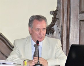 Professor Riccardo Torta, docente di Psicologia clinica e Psichiatria - Università di Torino, al Convegno di Torino, 17 giugno 2017 ©Bioetica News Torino