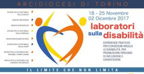 laboratori-disabilità-Arcidiocesi Torino 2017_ banner