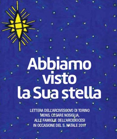 Segnaliamo: Lettera di Auguri dell'Arcivescovo di Torino in occasione del Santo Natale
