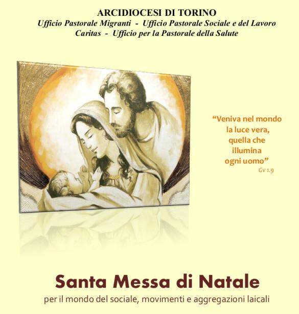 Celebrazione eucaristica per il mondo dell'Agorà del Sociale