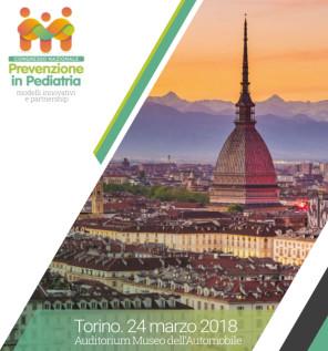 Prevenzione in Pediatria_ congresso nazionale Torino 2018_ banner