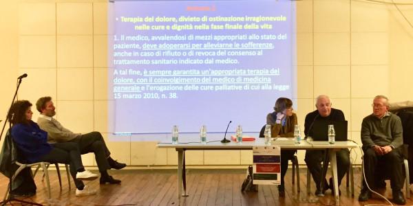 Il tempo di relazione: tempo di cura,  Ridotto del Teatro Verdi, Fiorenzuola d'Arda, 6 aprile 2018