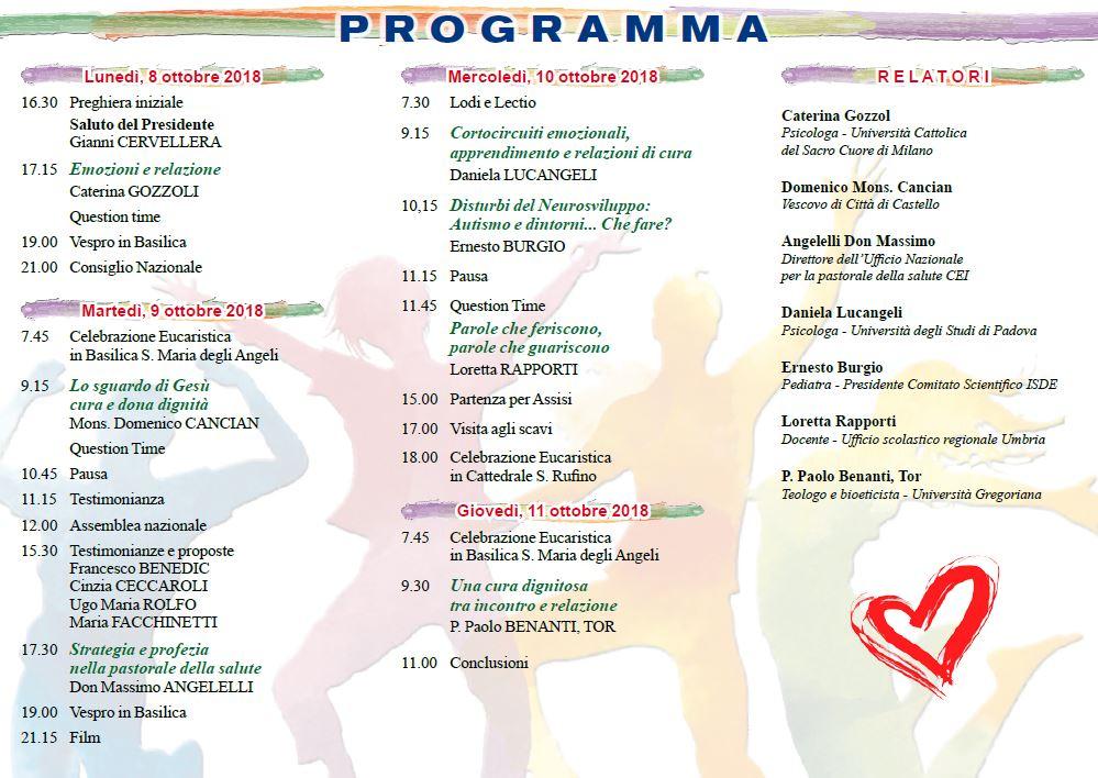 Programma del XXXV Convegno  nazionale Aipas