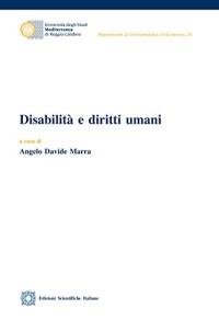 Marra A._Disabilità e diritti umani_ ESI 2018_ cop