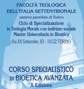 BIOETICA AVANZATA_2018-2019_ Facoltà Teologica Torino