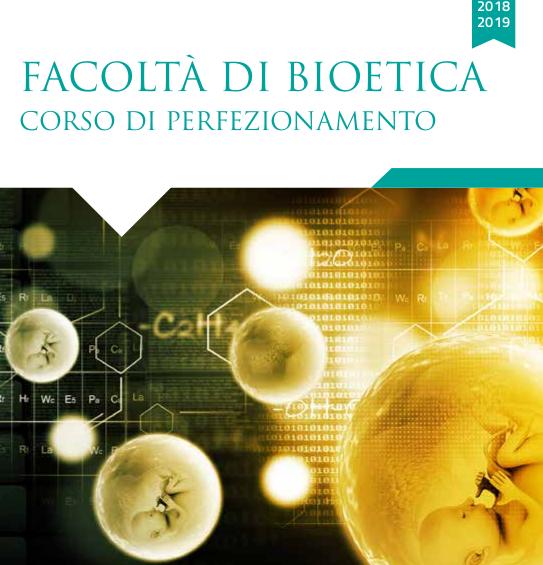 Corso di Perfezionamento in Bioetica all'Ateneo Pontificio Regina Apostolorum