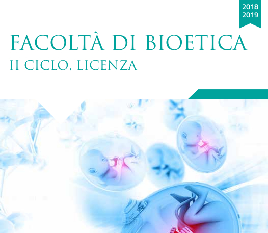 Licenza in Bioetica al Regina Apostolorum