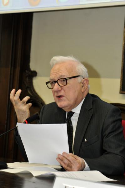 Avv. Mauro Ronco, Professore Emerito di Diritto Penale e Presidente del Centro Studi Rosario Livatino © F. A. D'Angelo