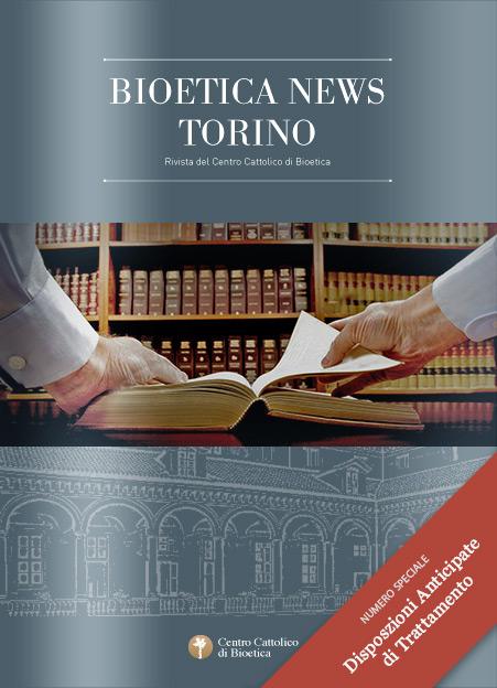 Bioetica News Torino 51 - Disposizioni Anticipate Trattamento