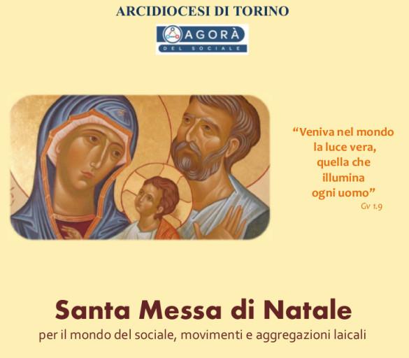 Santa Messa di Natale per l'area del Sociale