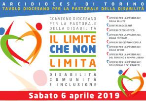 Il Limite che non limita_convepastorale disabilità diocesi Torino 2019_banner