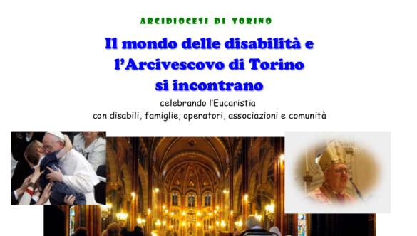 Il mondo delle disabilità e l'Arcivescovo di Torino si incontrano