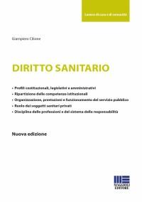 CILIONE G_Diritto sanitario_Maggioli 2019_cop
