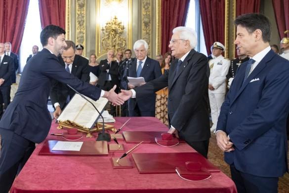 Roberto Speranza, ministro della Salute nel nuovo Governo