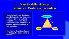 """Fig. 4 La """"violenza mimetica"""" di R. Girard, a cura di R. Ferraris"""