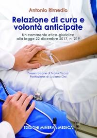 RIMEDIO A, Relazione di cura e volonta anticipate_ minerva medica 2019 cop