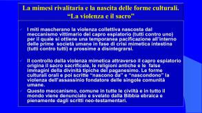 Tab. IV Descrizione dell'analisi di Gallese e Girard sul comportamento violento e rivalitario scaturito da una capacità imitativa inconsapevole e neutrale, a cura di R. Ferraris
